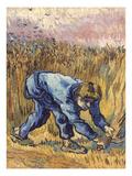 Van Gogh: The Reaper, 1889 Prints by Vincent van Gogh
