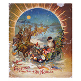 Night Before Christmas Giclee Print