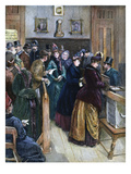 Women Voting, 1888 Giclee Print