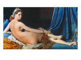 J.A.D. Ingres: Odalisque Prints by Jean-Auguste-Dominique Ingres