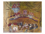 Dufy: Grand Concert, 1948 Art by Raoul Dufy