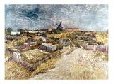 Van Gogh: Gardens, 1887 Giclee Print by Vincent van Gogh