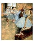 Degas: Ballet Class, C1880 Poster by Edgar Degas