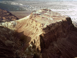 The Holy Land: Masada Photographic Print