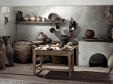 Roman Kitchen, 100 A.D Photographic Print