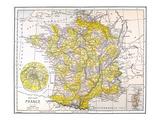 Map: France Prints