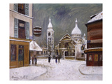 Utrillo: Montmartre, 1931 Giclee Print by Maurice Utrillo