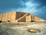 Iraq: Ziggurat In Ur Photographic Print