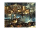 Vlaminck: Marseilles, 1913 Giclee Print by Maurice de Vlaminick