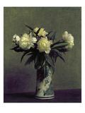 Fantin-Latour: Peonies, 1872 Poster by Henri Fantin-Latour