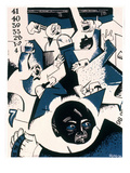 Stock Market Crash Premium Giclee Print by William Gropper