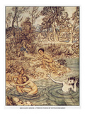 Andersen: Little Mermaid Prints by Arthur Rackham