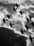 Biplanes, C1917 Photographic Print