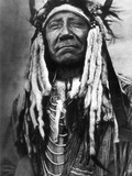 Cheyenne Chief, C1910 Photographic Print by Edward S. Curtis