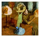 Degas: Milliner, 1879-84 Giclee Print by Edgar Degas