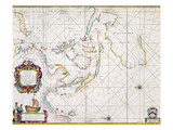 Map: East Indies, 1670 Giclee Print by John Seller