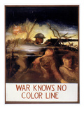 Wwii: Color Line Poster Giclee Print