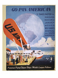 Airline Poster, 1933 Giclee Print