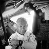 Edwin 'Buzz' Aldrin (1930-) Photographic Print by Neil Armstrong