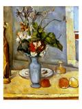 Cezanne: Blue Vase, 1885-87 Posters by Paul Cézanne