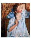 Cassatt: Girl, 1886 Giclee Print by Mary Cassatt