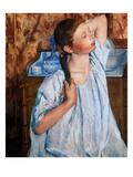 Cassatt: Girl, 1886 Posters by Mary Cassatt