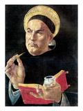 St. Thomas Aquinas Print by Sandro Botticelli