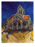 Van Gogh: Church, 1890 Giclee Print by Vincent van Gogh