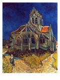 Van Gogh: Church, 1890 Print by Vincent van Gogh