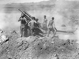 Korean War: Artillery Photographic Print