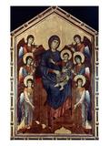Madonna & Child In Majesty Giclée-tryk af Giovanni Cimabue