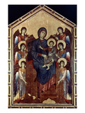 Madonna &amp; Child In Majesty Giclee Print by Giovanni Cimabue