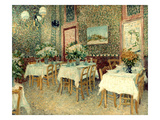 Van Gogh: Restaurant, 1887 Poster by Vincent van Gogh