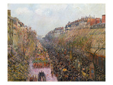 Pissarro: Mardi Gras, 1897 Giclee Print by Camille Pissarro