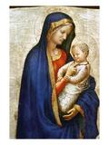 Masaccio: Virgin & Child Giclée-tryk af Masaccio,