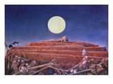 Max Ernst: The Whole City Giclee-trykk av Max Ernst