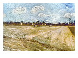 Van Gogh: Fields, 1888 Giclee Print by Vincent van Gogh