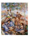 Renoir: Grape Pickers Prints by Pierre-Auguste Renoir