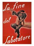 WWII: Italian Poster, 1944 Giclee Print