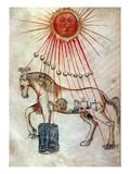 Zodiacal Horse Prints
