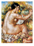 Renoir: Bather, 1912 Giclee Print by Pierre-Auguste Renoir