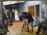 Photography Studio, C1878 Photographic Print by Pascal Adolphe Jean Dagnan-Bouveret
