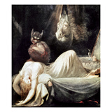 Fuseli: Nightmare, 1781 Posters by Henry Fuseli
