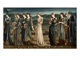 Psyche Premium Giclee Print by Edward Burne-Jones