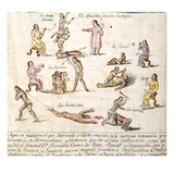 Mexico: Indian Punishments Giclee Print by Pablo Beaumont