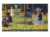 Seurat: Grande Jatte, 1884 Giclee Print by Georges Seurat