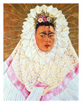 Self-Portrait as a Tehuana (Diego on My Mind), c.1943 Prints by Frida Kahlo