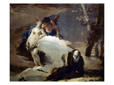 Temptation Of St. Anthony Posters by Giovanni Battista Tiepolo