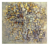 Mondrian: Composition, 1913 Giclee-trykk av Piet Mondrian