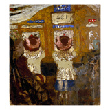 Vuillard: In The Bus, C1895 Art by Edouard Vuillard